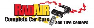 RadAir & Tire Centers BLACK TYPE