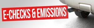 E-Checks and Emissions