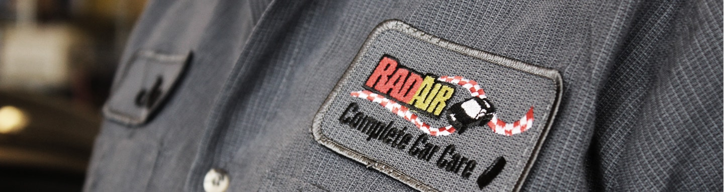 Rad Air Uniform Logo