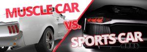 Muscle Car VS Sports Car