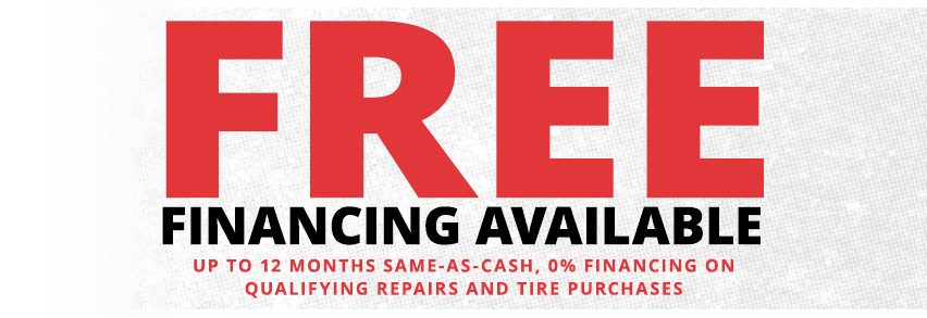 Free Financing Available