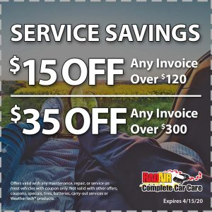 Raid Air Service Savings April 2020 Coupon