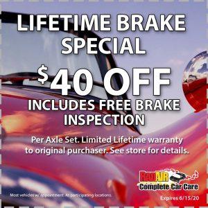 Raid Air Lifetime Brake June 2020 Coupon