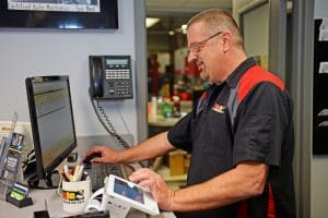 Eric Spape, Rad Air Garfield Heights shop manager