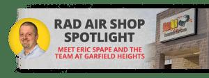 Rad Air Garfield Heights shop spotlight