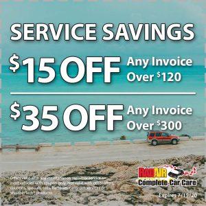 Raid Air Service Savings July 2020 Coupon