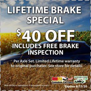 Raid Air Lifetime Brake August 2020 Coupon