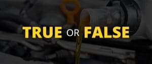 True or False quiz header