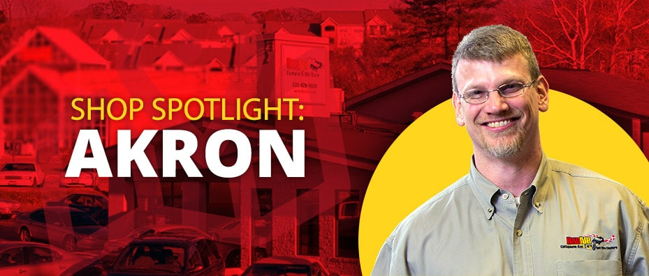 Rad Air shop spotlight on Akron
