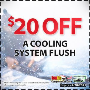Rad Air $20 off a Cooling System Flush Coupon