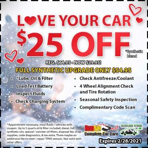 Rad Air Love Your Car $25 Off Coupon