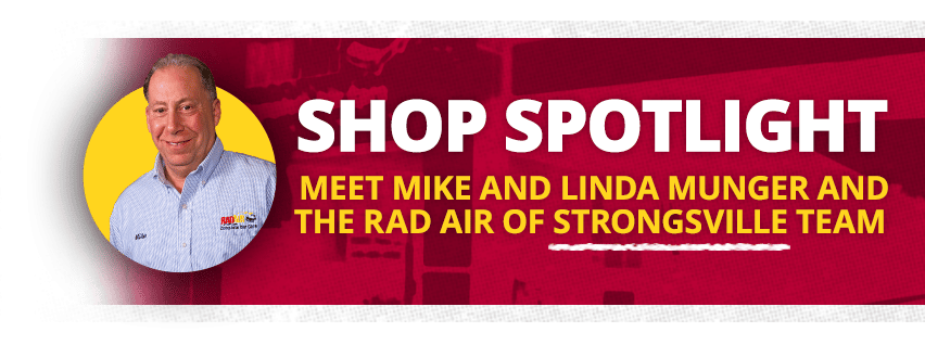 Rad Air of Strongsville Shop Spotlight