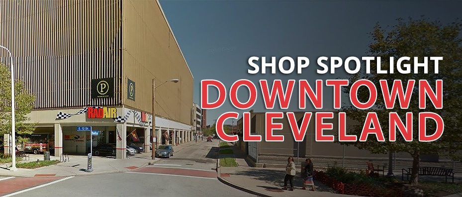shop spotlight downtown Cleveland