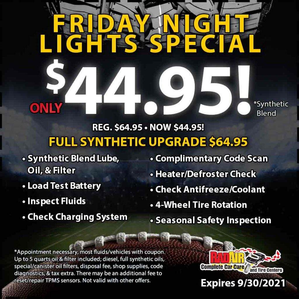 Friday Night Lights special only $44.95!